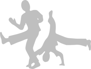 Dancing Guys Clip Art