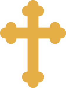 Gold Orthodox Cross Clip Art