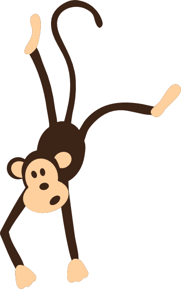 clipart image of monkey - photo #26