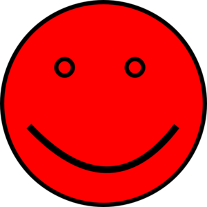 Red Face Clip Art