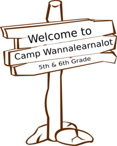 Wood Sign Post Final Clip Art