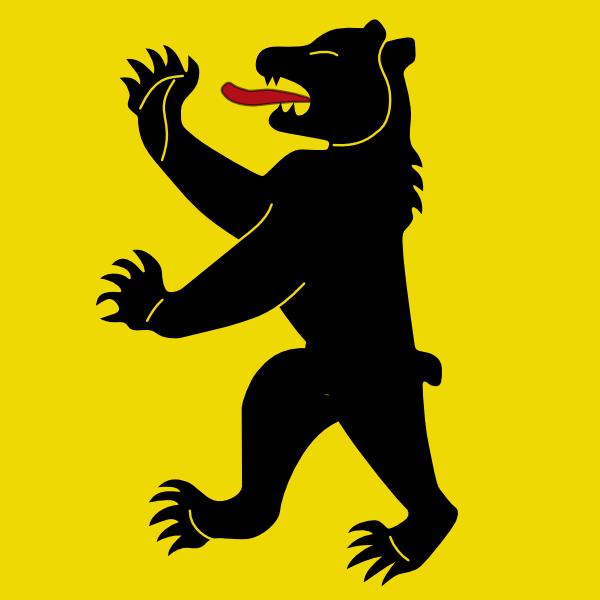 edited medieval bear clip art at clkercom vector clip