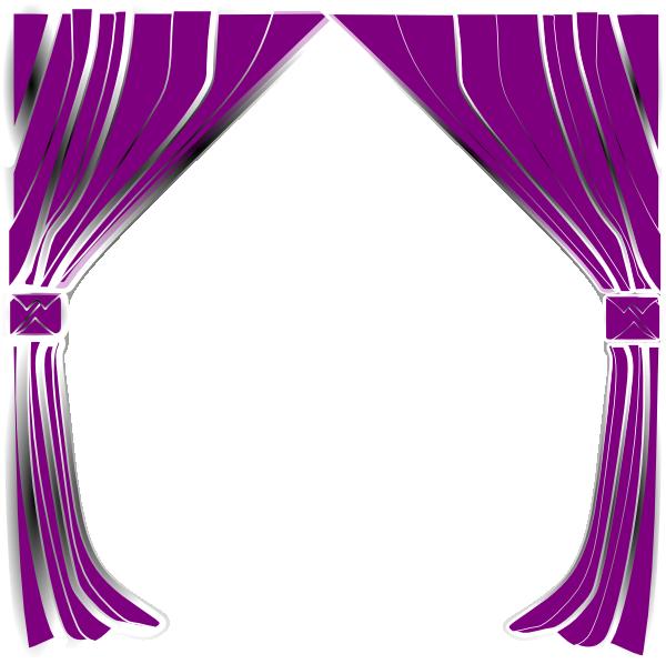 Curtains Clip Art at Clker.com - vector clip art online, royalty free ...: www.clker.com/clipart-curtains.html