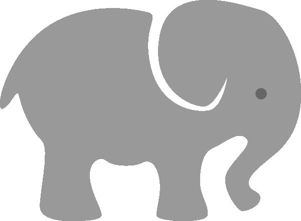 gray elephant free clip art - photo #11