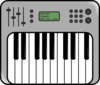 Synthesizer Icon Clip Art