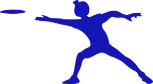 Frisbee Player Clip Art
