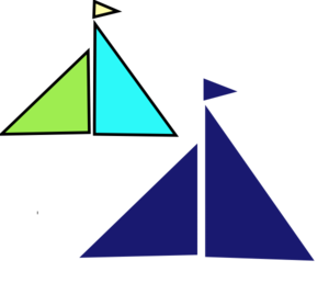 Little Sailboat Clip Art