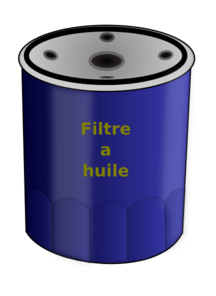 Oil Filter Clip Art