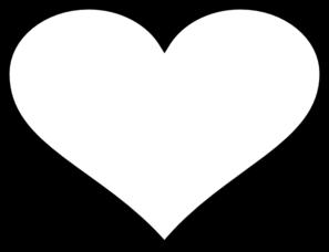 heart black outline clip art at clker com vector clip art online