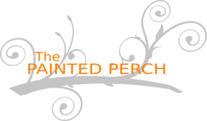 The Painted Perch 2 Clip Art