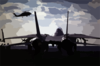 F-14 On Flight Deck Clip Art