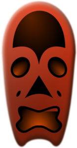Tribal Mask Clip Art