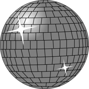 Disco Ball 2 Clip Art
