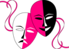 Theatre Masks (endowed Edit) Clip Art