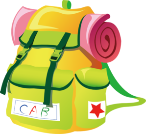 Travel - Backpack Clip Art