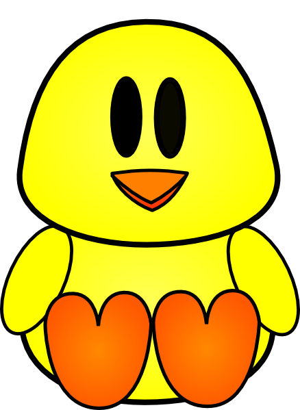 cartoon chicken clip art free - photo #45