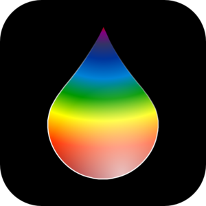 Rainbow Rain Drop Clip Art