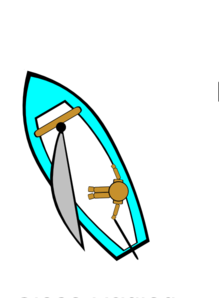 Under Sail Clip Art