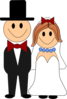 Bride And Groom Clip Art