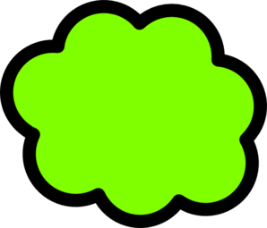 Greencloud Clip Art