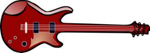 Bass Guitar Clip Art