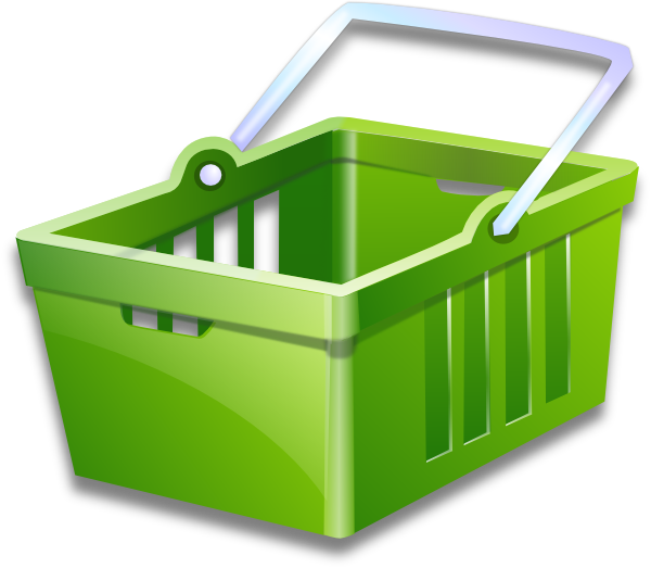 Vector Clipart Shopping Basket : Ping basket clip art at clker vector