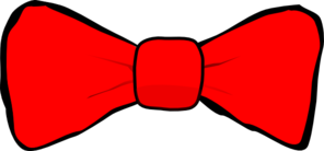 Bow Tie Red Clip Art