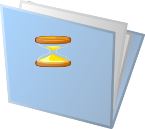 Temporary Folder Clip Art