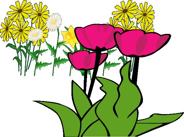 some flowers clip art at clker  vector clip art online, Beautiful flower
