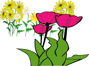 Some Flowers Clip Art