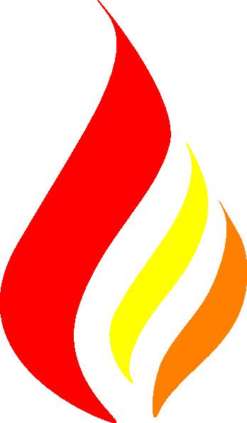 candle flame logo clip art at clker com vector clip art online rh clker com flames images clip art clipart flames black and white