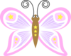 Butterfly Cartoon Clip Art