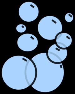 bubbles 2 clip art at clker com vector clip art online royalty rh clker com bubble clip art text bubble clip art images