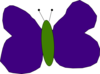 Purple And Green Butterfly Clip Art