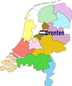 Location Of Dronten Clip Art