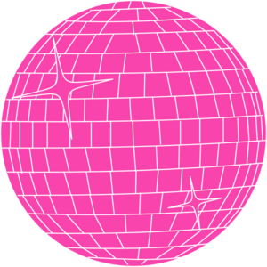 Pink Disco Ball Clip Art at Clker.com - vector clip art online ...