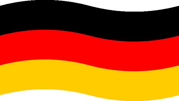 German Flag clip art - vector clip art online, royalty free ...