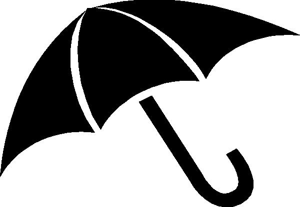 Black Umbrella Clip Art at Clker.com - vector clip art online, royalty ...