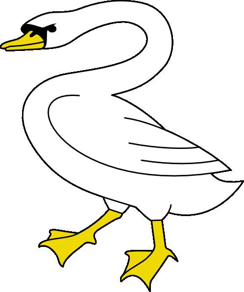Swan Lake Clipart Swan 6 Clip Art...