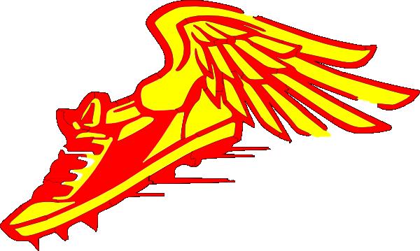 Winged Foot Clip Art 99