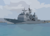 Uss Port Royal (ddg 73)  Departed On Deployment Clip Art