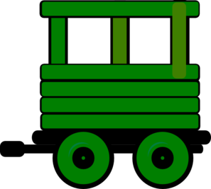Toot Toot Train Carriage 6  Clip Art