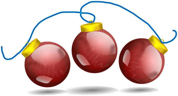 clipart christmas decorations - photo #50
