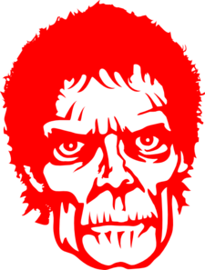 Zombie Red Clip Art