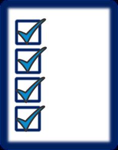 checklist clip art