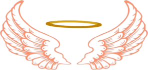 Angel Halo With Wings2 Clip Art