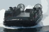 A Landing Craft Air Cushion (lcac) Assigned To Assault Craft Unit Five (acu-5) From Camp Pendleton, Calif., Enters The Well Deck Of The Amphibious Assault Ship Uss Peleliu (lha 5) Clip Art