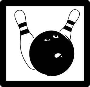 Bowling Icon Clip Art