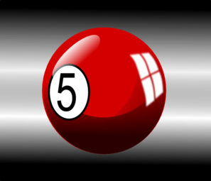 Pool Ball 3 Clip Art