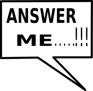 Answer Clip Art